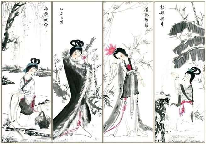 中国古代四大美女 新闻图片