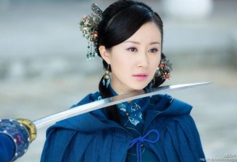 中国古典美女明星排行