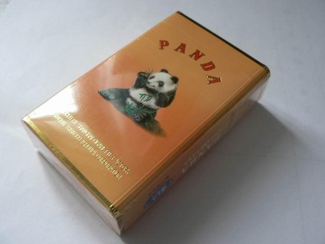 熊猫香烟高清图片