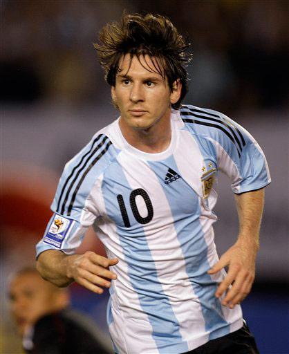 梅西-世界上最著名的足球明星排行榜-天天排行