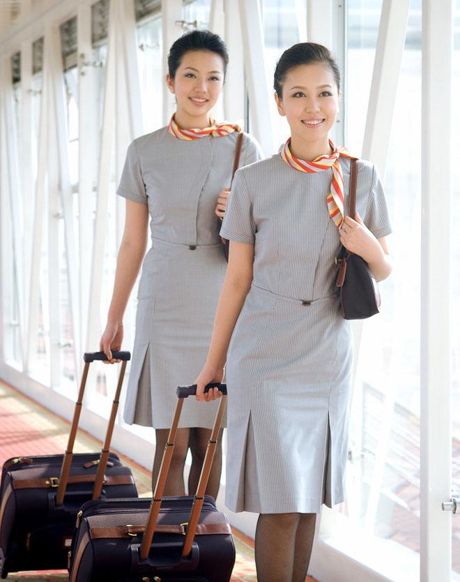 海南航空空姐图片