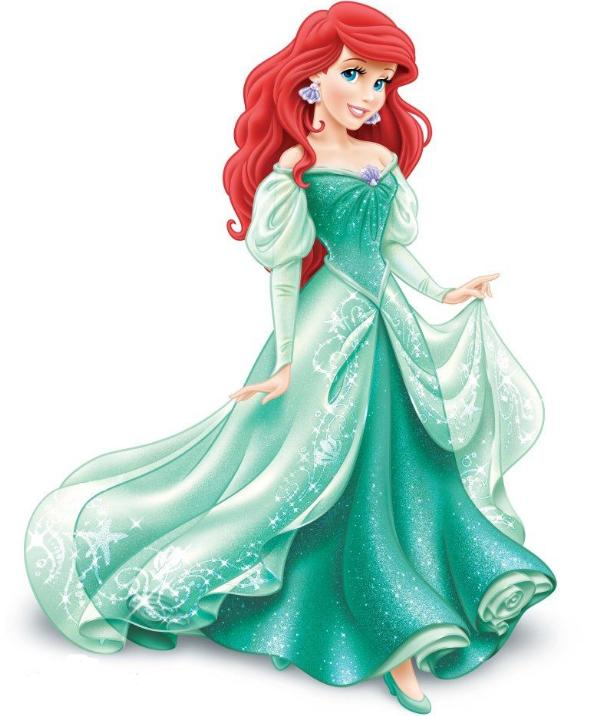 爱丽儿公主 最受欢迎的国外二次元美女排行榜