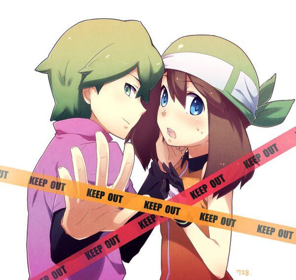 """瞬遥,是指在日本经典动画""""神奇宝贝""""里两位角色(小瞬,小遥)的配对图片"""