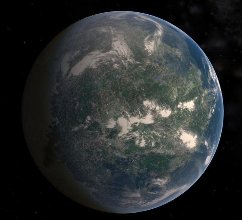 外星球-格利泽581d