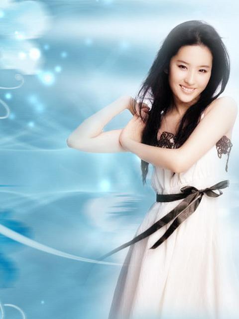 刘亦菲 中国最性感的美女明星排行榜