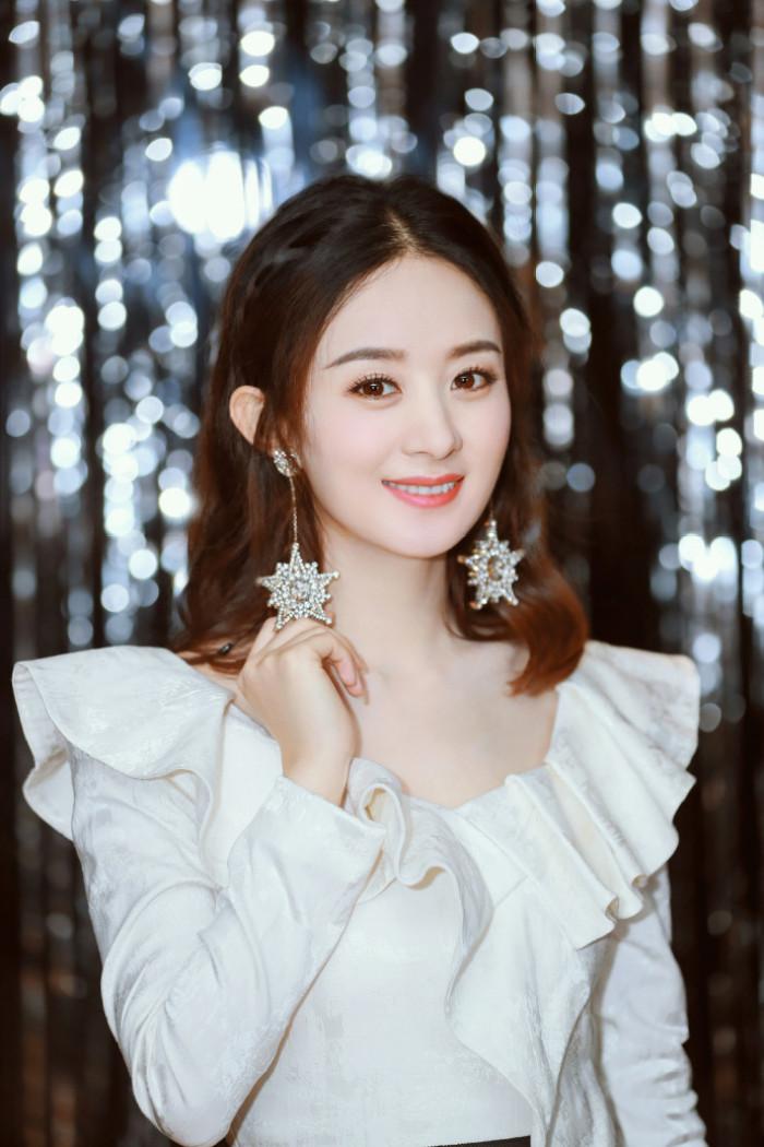 赵丽颖 中国最性感的美女明星排行榜