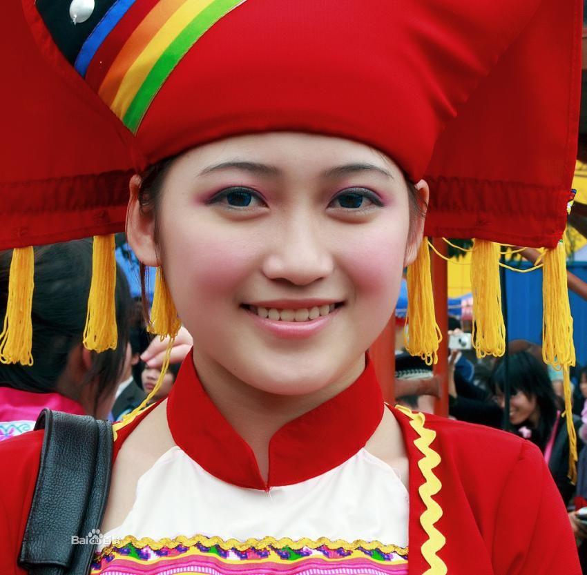 壮族美女 中国美女最多最漂亮的少数民族排行榜