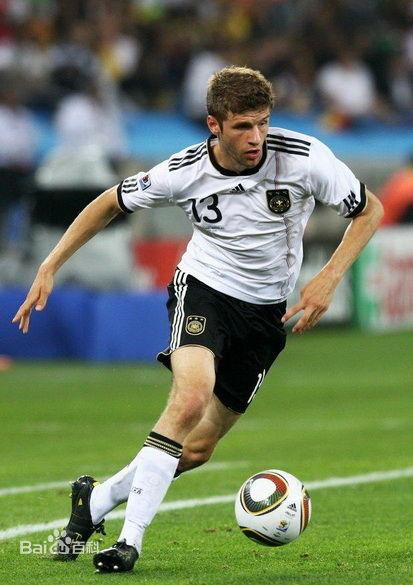 托马斯·穆勒-世界上最著名的足球明星排行榜