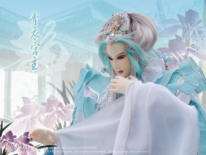 青衣宫主-最受欢迎的国产二次元美女排行榜图片
